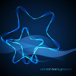 Stars lines background vector