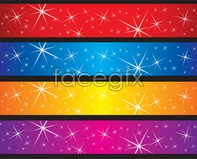 Link tovector sky blue red flash background shine Stars
