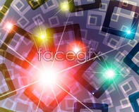 Link tovector starlight dazzling background square stacking Stars