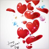 Link toStarstudded romantic heartshaped 06 vector