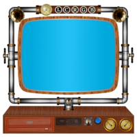 Link toSteampunk computer and screen icons