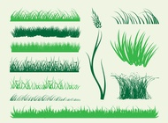 Link toStems of grass vector free