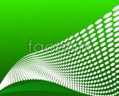 Link toStereo changing graphics and a green background vector