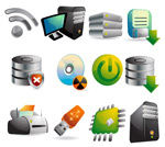 Link toStereo computer icons