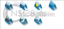 Link toStereo folder icons