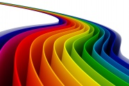 Link toStereo-rainbow-colored plastic tablet picture