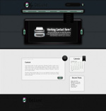 Link toStereo style website template