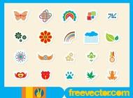 Link toSticker vectors free