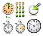 Link toStop watch clock vector