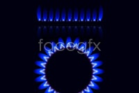 Link toStove blue flame vector graphics