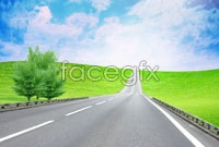 Link toStraight road sky high definition pictures