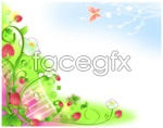 Link toStrawberry vine vector