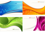 Link toStreamline bubble background vector