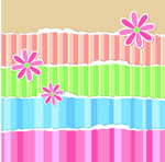 Link toStriped paper backgrounds vector