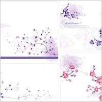 Link toStylish and elegant flower pattern vector