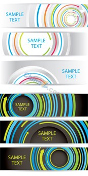 Link toStylish and modern banners banner vector