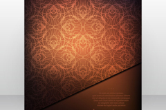 Link toStylish brown brochure covers vector
