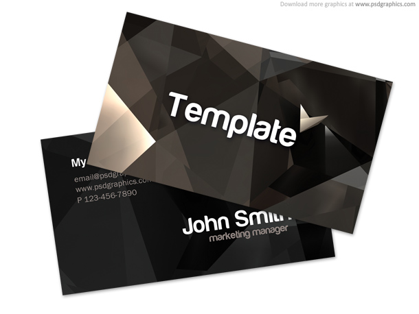 Link toStylish business card template (psd)