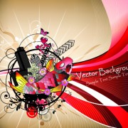 Link toStylish city party vector background 02 free