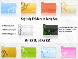 Link toStylish folders 2 icon set