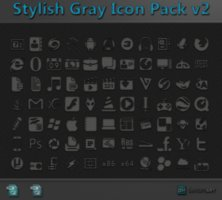 Link toStylish gray icon pack v2 + psd