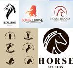 Link toStylish horse logo vector
