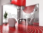 Link toStylish living room psd