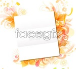 Link toStylish patterns and white vector