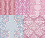Link toStylish patterns lace vector