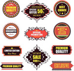 Link toStylish quality label vector