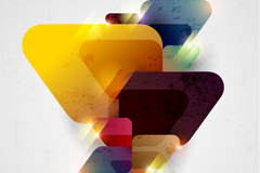 Link toStylish stereo triangle background vector