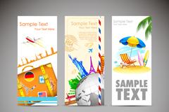 Link toStylish summer vacation shufu vector