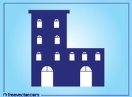 Link toStylized building layout vector free