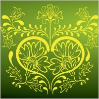 Link toStylized flower vector