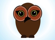Link toStylized owl vector free