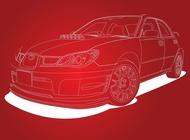 Link toSubaru impreza car vector free