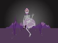Link toSugar skeleton vector free