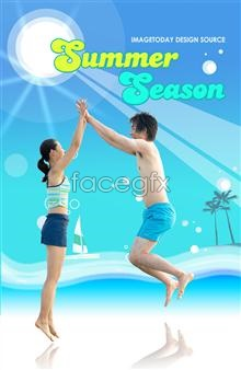Link topsd couple beach Summer