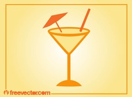 Link toSummer cocktail vector free