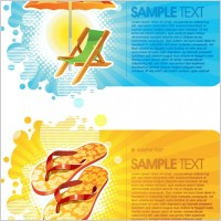 Link toSummer fashion card background vector