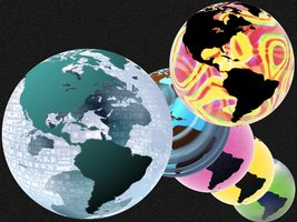 Link toSummer glass globe amerika xcf