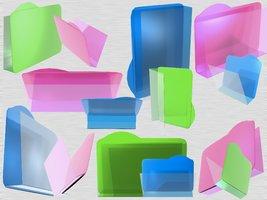Link toSummer glassy 3d foldericonxcf