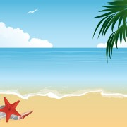 Link toSummer holiday beach creative background vecor 04 free