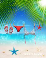 Link toSummer holiday illustration vector