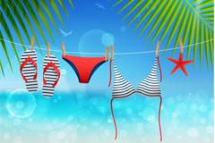 Link toSummer holiday vector illustration
