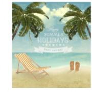 Link toSummer holidays happy travel background vector graphic 04 free