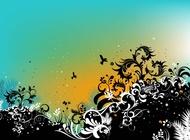 Link toSummer nature vector illustration free