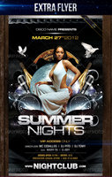 Link toSummer night party - flyer template