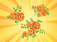 Link toSummer season flowers vector free