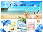 Link toSummer site home-screen interface